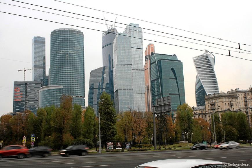Москва-Сити во всей красе
