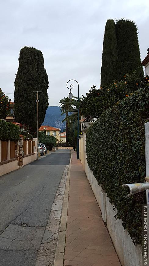 Улица, по которой мы дошли до тропы Карьер.