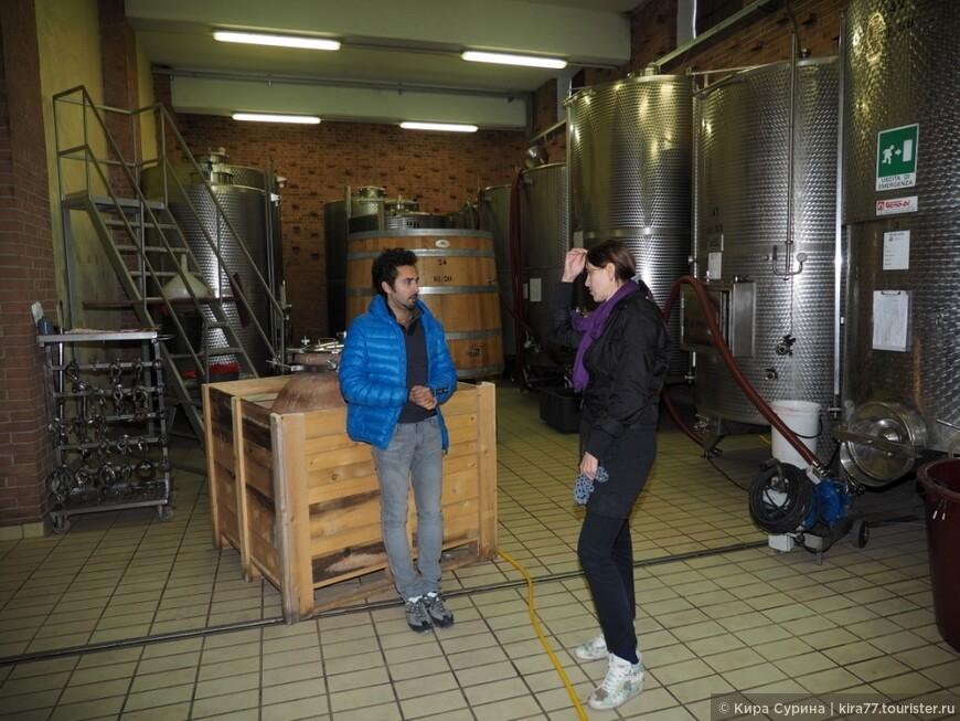 В гостях у одного из производтелей королевского вина Бароло.