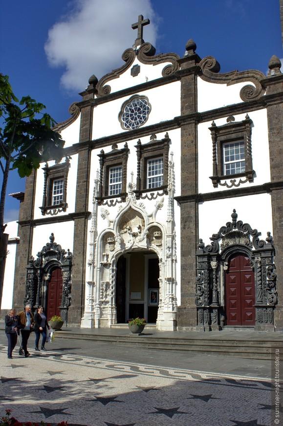 Церковь Сан Себастьян - Igreja Matriz de São Sebastião, Ponta Delgada, São Miguel.