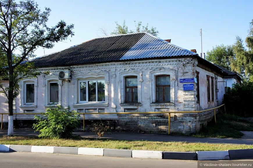 Жилой дом на проспекте Революции.