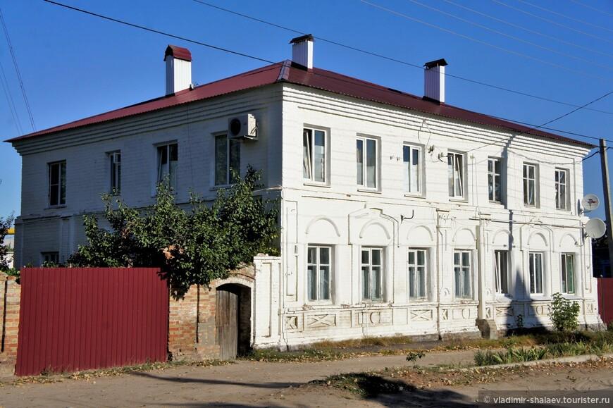 Жилой дом на улице Готвальда.
