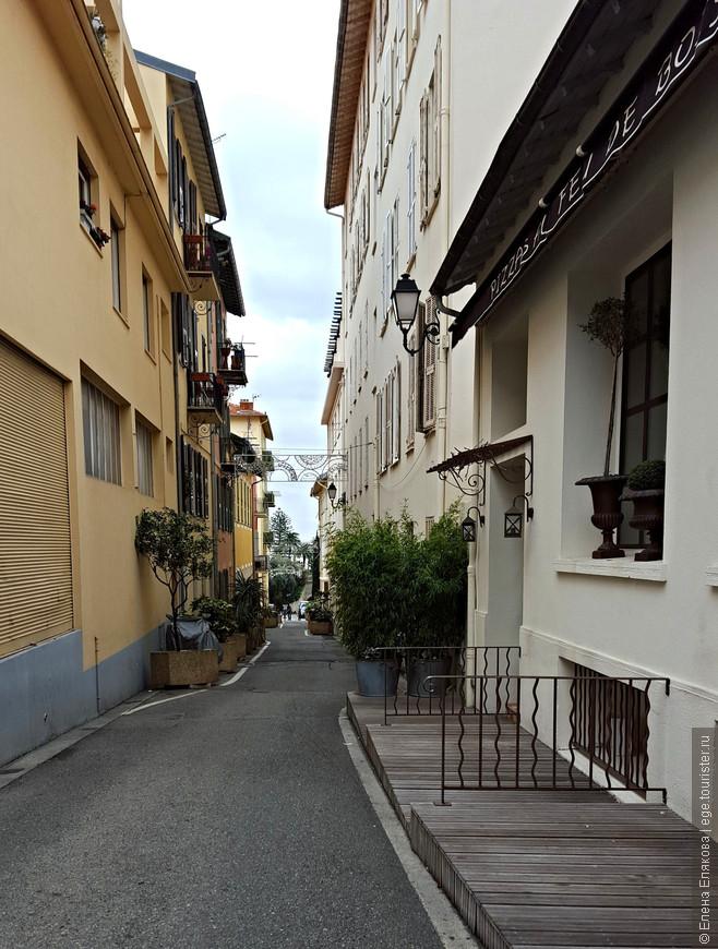 Одна из улиц Больё-сюр-Мер