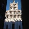 Лука, Тоскана, вид на фасад церкви Сан Микеле, 11 - 13 века, экскурсии по Флоренции и Тоскане с частным индивидуальным гидом на русском языке