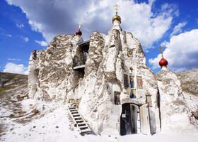 Пещерные монастыри Придонья. Костомарово.