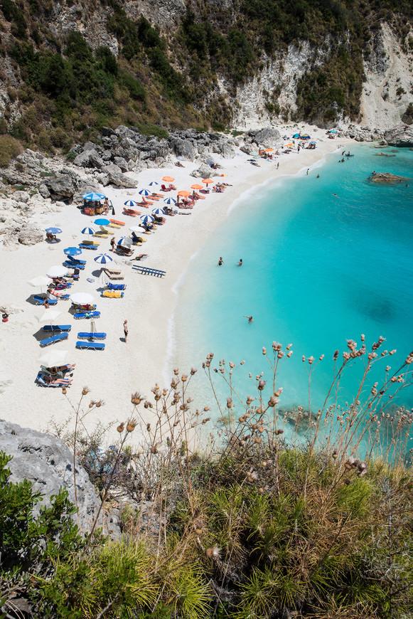 Пляж Агиофили