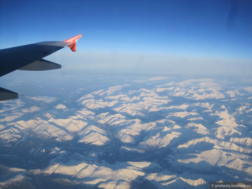 Полярный Урал. Редкий случай - Солнце. Чаще за облаками укрыты горы.
