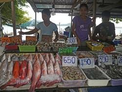 Турист из РФ лишился уха, подравшись с торговцем рыбой на Пхукете