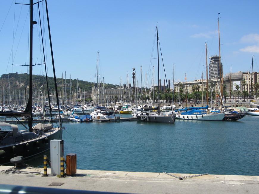 На набережной находятся Palau de Mar (Морской дворец), в котором размещается музей истории Каталонии. Ну и конечно, вдоль пешеходного променада расположено большое количество кафе, ресторанов. Есть здесь кинотеатр, а также крупнейший в Европе Аквариум.