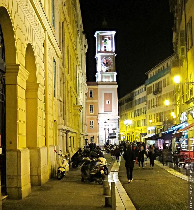 Улица Старого города в Ницце