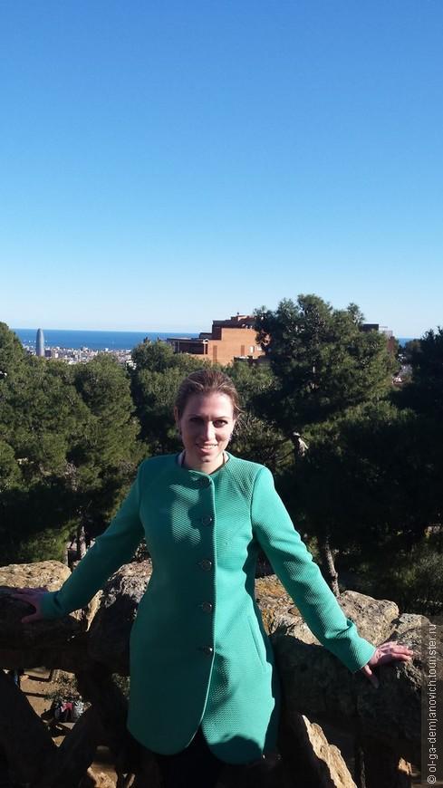 """Парк """"Гуэль"""", Барселона, Испания"""