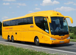 Бюджетный автобус курсирует между Веной и Братиславой