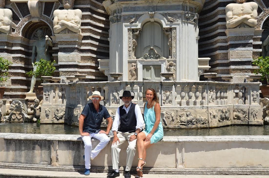 """Фото из альбома """"Гости моего города"""", Тиволи, Рим, Италия"""