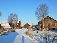 Карельская деревенька Рубчойла