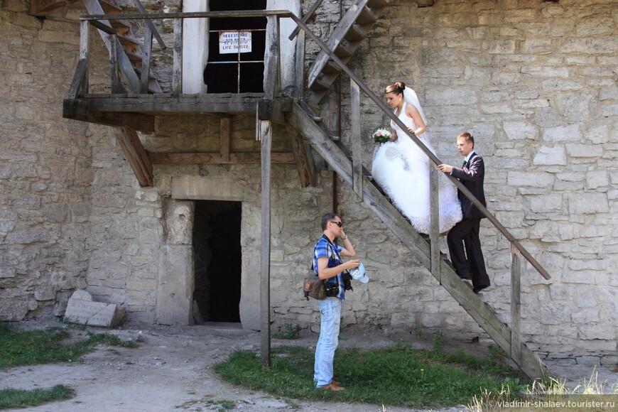 Ещё одна свадебная фотосессия.