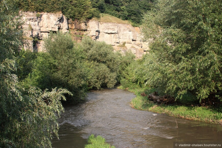 Каньон реки Смотрич.