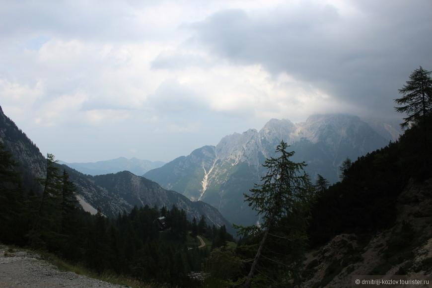 Долина Трента, маршрут от Краньски Горы до перевала