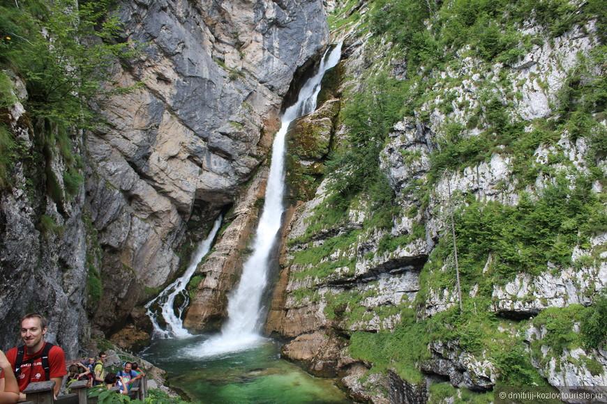 "2 км в гору, и ты у водопада ""Савица"""