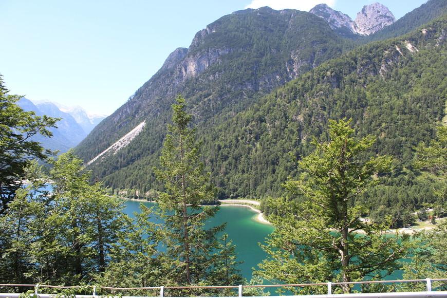 Озеро лаго Предил,маршрут на перевал Вршич через Италию