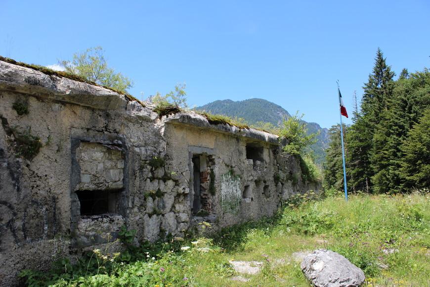 Крепость Селла Предил,Италия