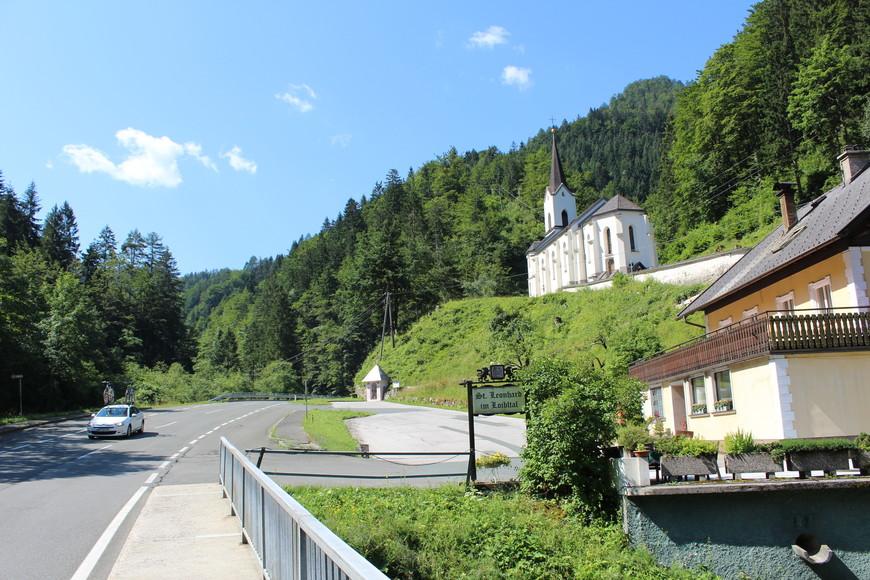 Церковь св.Леонардо в Любиталь (Loibital) Австрия
