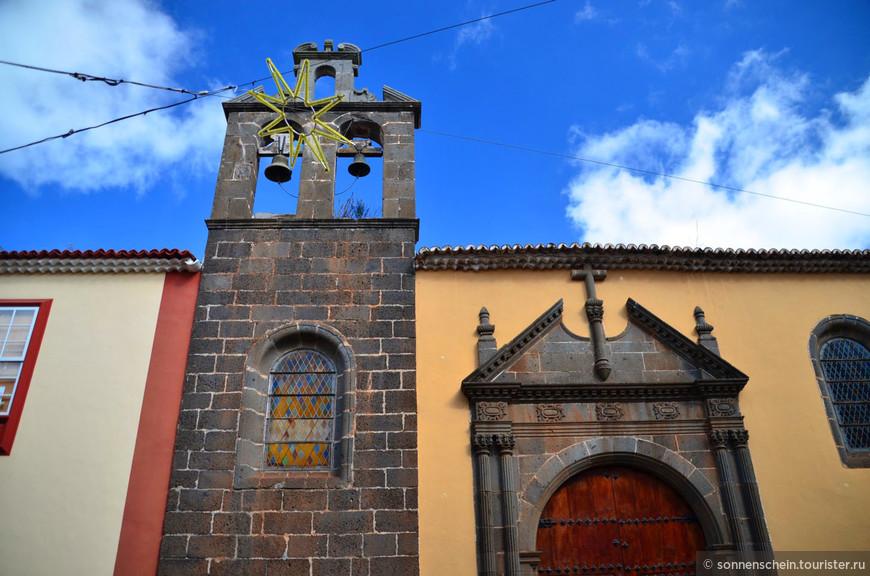Дальше стоит полностью сгоревший в 1964 году монастырь Св. Августина, основан 1506 году. Осталась только стена.