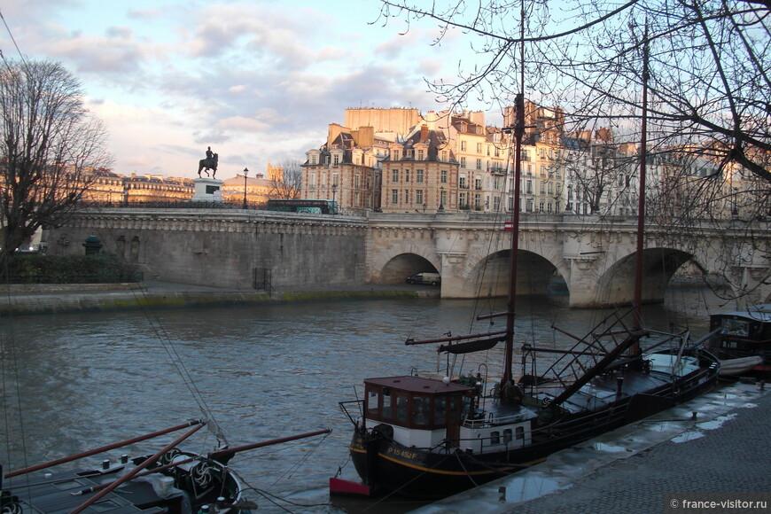 Новый мост. Париж
