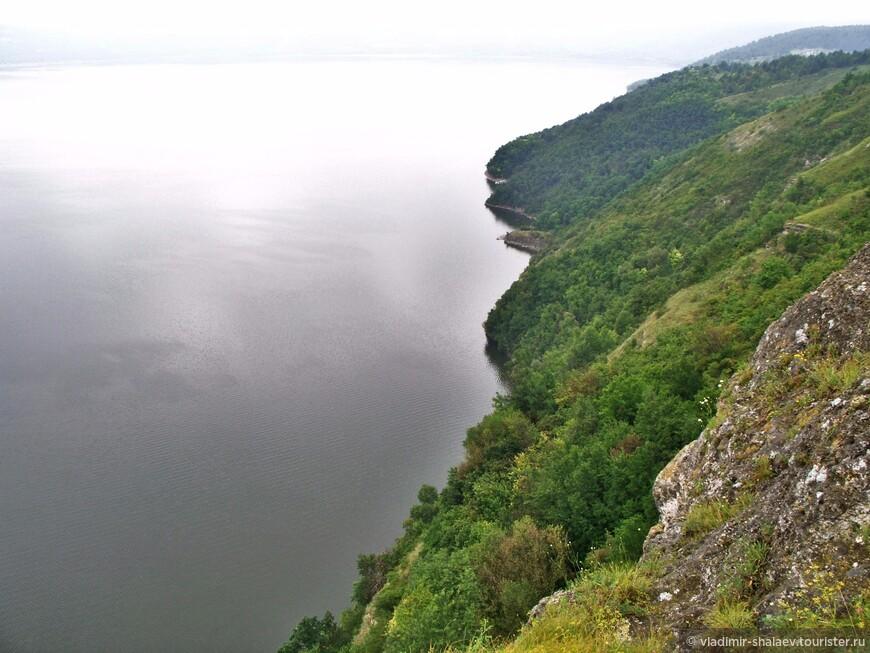 Вид на Бакоту с Белой горы.
