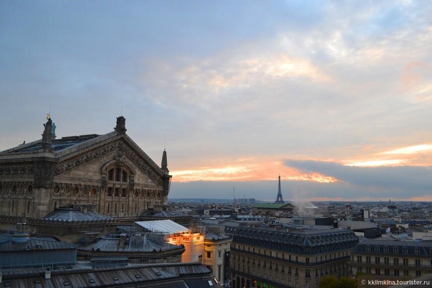 В Париже много смотровых площадок. Вид с каждой по своему прекрасен.