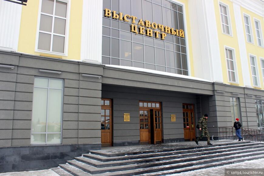 Выставочный центр на территории музея открыт 9 мая 2013 г.