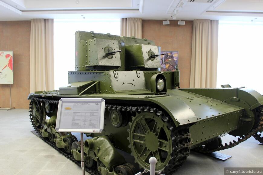 Танк Т-26.