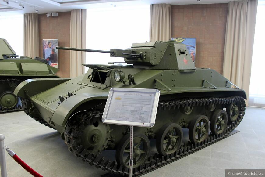 Т-30, выпускавшийся перед войной.