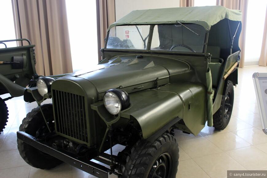 ГАЗ-64, сделанный на шасси ГАЗ-61.