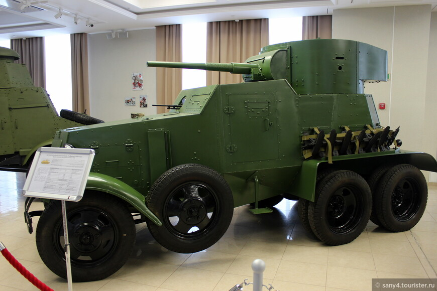 Бронеавтомобиль БА-3.