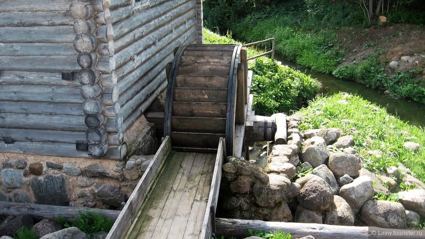 Водяная мельница в Бугрово