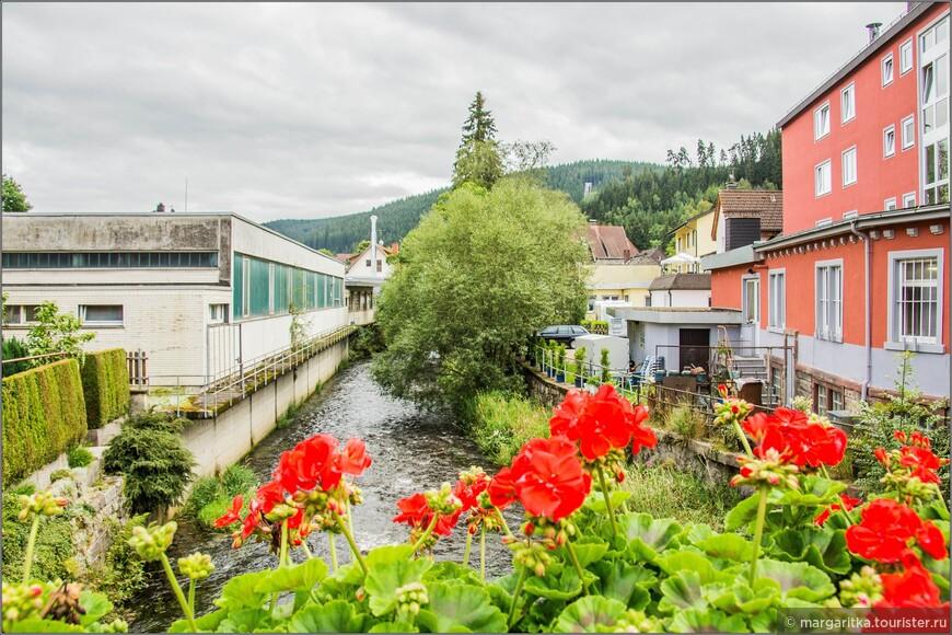 цветущая герань на мостах через речки и ручьи