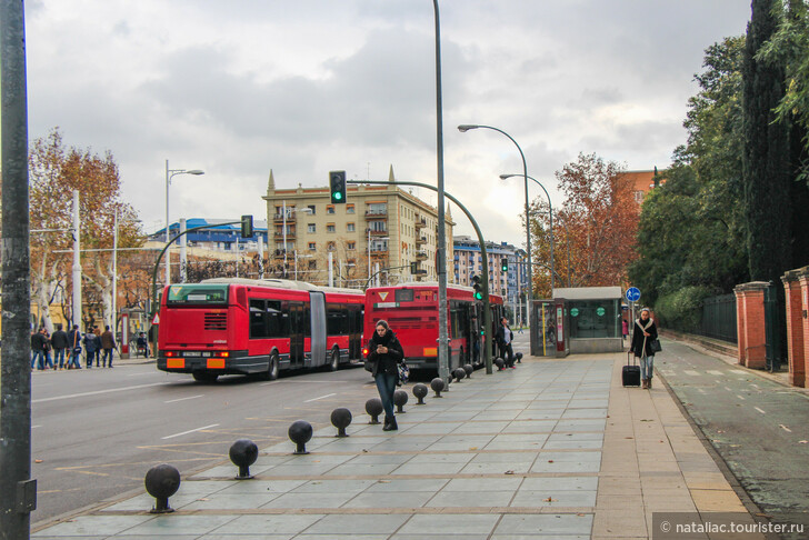Из Севильи в аэропорт на автобусе