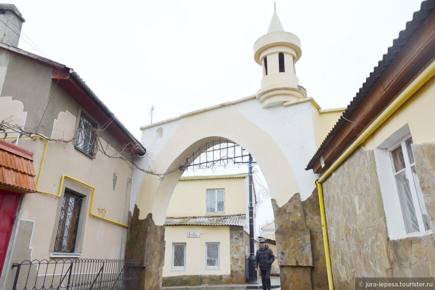 """Одна из многочисленных улиц старого города """"Малый Иерусалим""""."""