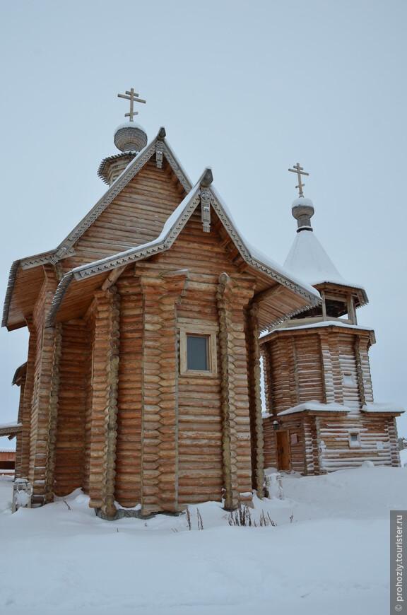Современная реконструкция Обдорского острога позволяет  представить как жили предки.