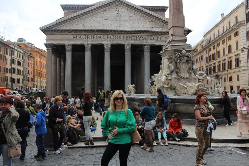 """Пантеон - храм или место, посвященное всем богам. """"Храм всех богов"""" в Риме."""