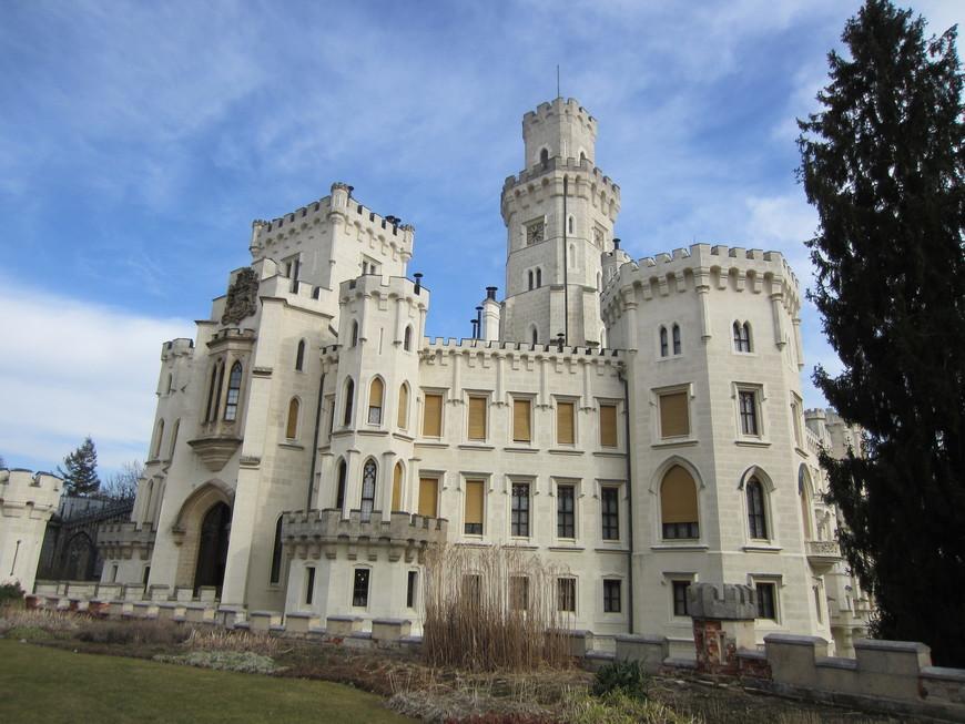 В 1660 году замок стал собственностью рода Шварценбергов. Именно с этой фамилией связан современный облик замка. В XIX веке замок подвергся значительной реконструкции в стиле неоготики. В качестве образца для перестройки замка послужил Виндзорский замок, архитектором проекта реконструкции является венский архитектор Франтишек Бера. Идея создания «Чешского Виндзора», как неофициально именуется замок, принадлежала одной из владелиц замка — герцогине Элеоноре Шварценберг. Шварценберги владели замком вплоть до 1945 года.