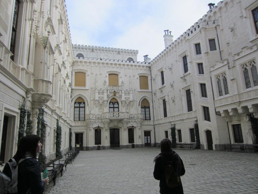 Великолепный замок, по отзывам туристов и моему мнению в том числе - один из самых красивых в Европе.Сказочный, ухоженный, поддерживается в отличном состоянии, особо приятно,что в интерьере сохранены многие предметы интерьера и быта хозяев . Жаль,что далеко не все залы открыты для посещения, но и увиденного (коллекции оружия,охотничьих трофеев,фарфора,гобеленов и многое другое) достаточно для понимания, как прекрасно проводили время хозяева и их гости.