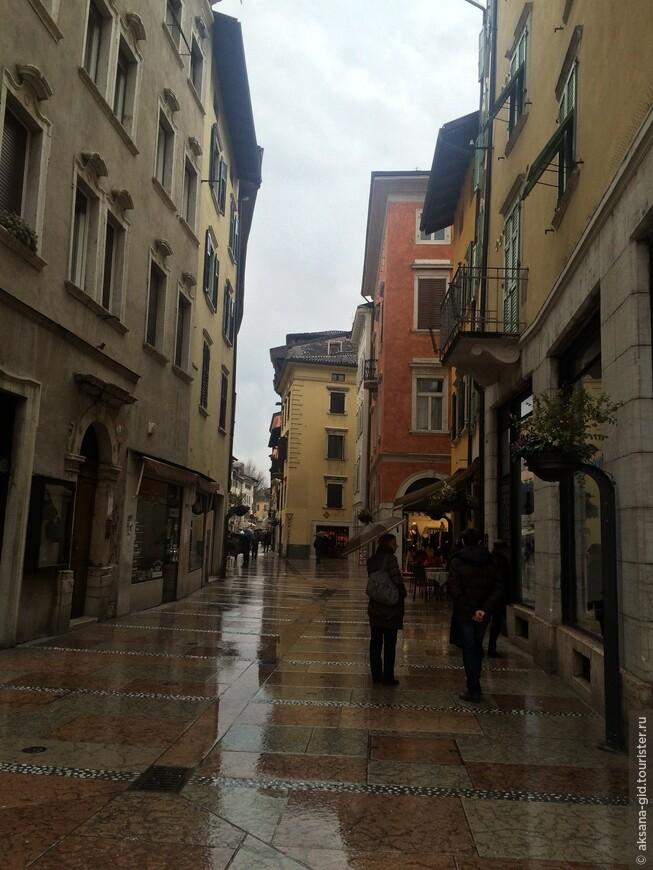 Осенний дождливый Тренто ....
