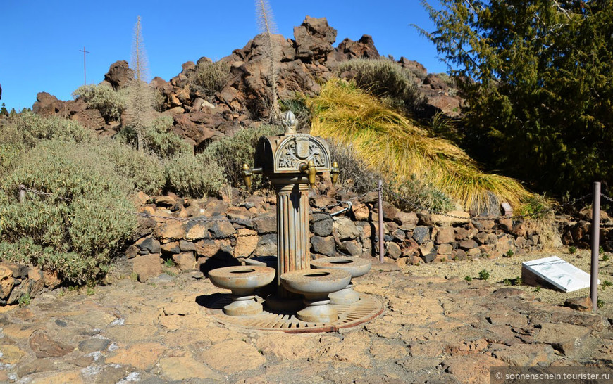 Расположен парк Тейде на высоте 2000 метров над уровнем моря, климат здесь сухой, дожди бывают очень редко. Кроме того, климат в парке Тейде известен своими контрастами: одновременно присутствует очень яркое солнце, сильнейший ветер и холод.