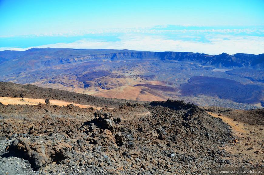 Гуанчи-называли вулкан Эчейде, что значит дьявол, ад. Они были уверены в том, что в вулкане обитает злой демон по имени Гуайота, потому относились к нему с подозрением и без особой надобности старались не беспокоить.