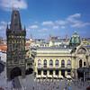 Первое знакомство. Правый берег Влтавы - Старый город, Новый город. Пороховая башня. Муниципальный дом. Экскурсии с частным индивидуальным гидом по Праге.