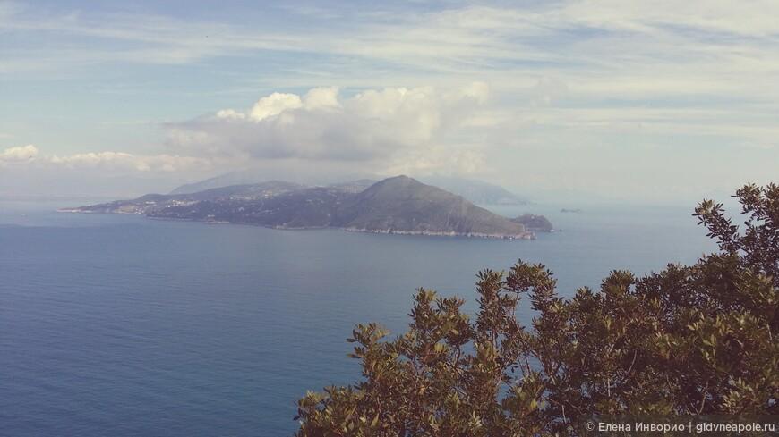 Вид на Соррентийский полуостров
