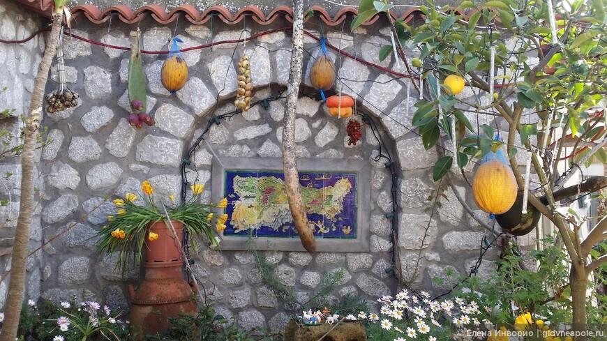 Колоритный тыквенный садик