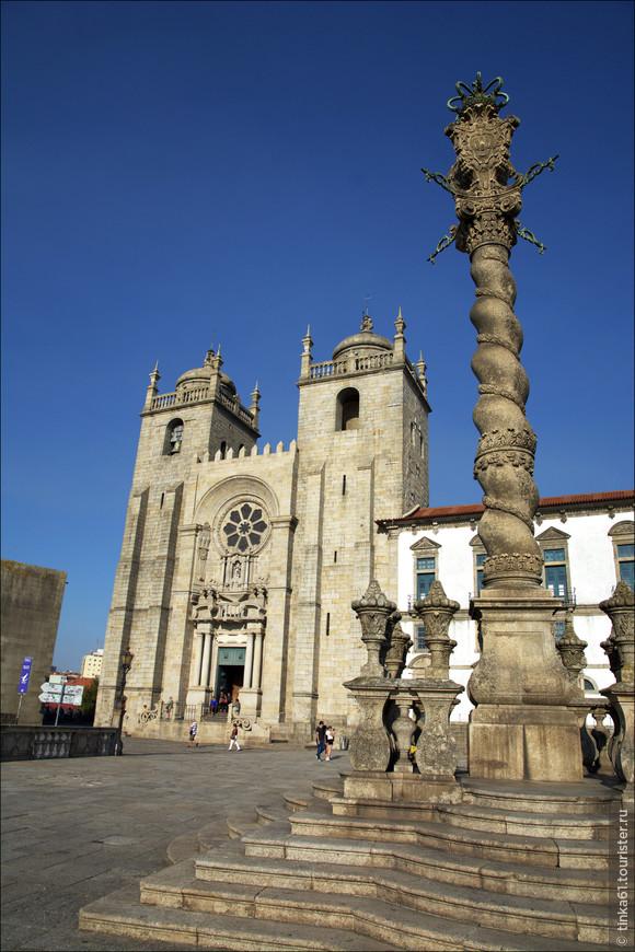 Кафедральный собор Се. Интересен своими интерьерами из  азулежу и отличной смотровой площадкой наверху.