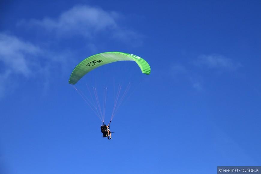Вот вы все на горы лезете, дроны покупаете, а жить надо шире - учитесь летать!